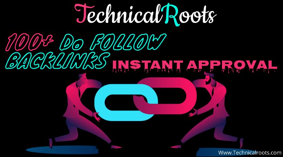 Dofollow backlinks Sites